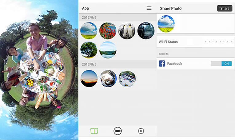 Ricoh Theta enables 360-degree photo uploads to Google+ and Maps