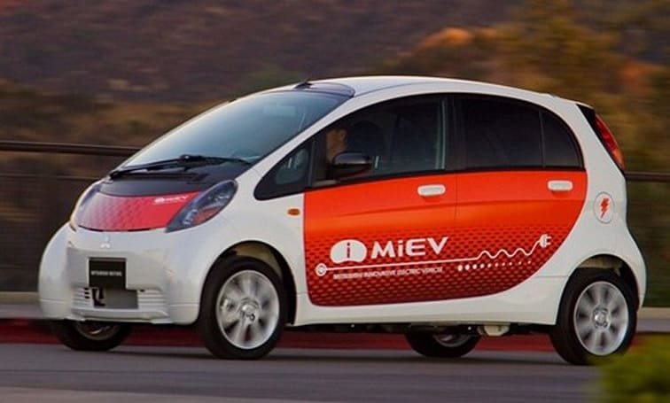 Zero-emission i MiEV begins testing in New Zealand
