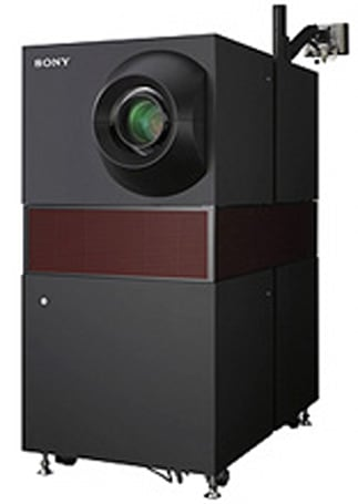 Sony loading up four theatres with 4K SXRD digital cinema systems