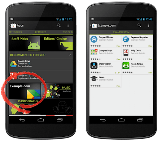 Google Play adds Private channel hosting for internal enterprise apps