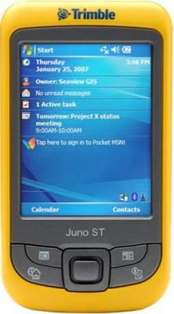 Trimble offers Juno ST GPS PDA to the mobile workforce