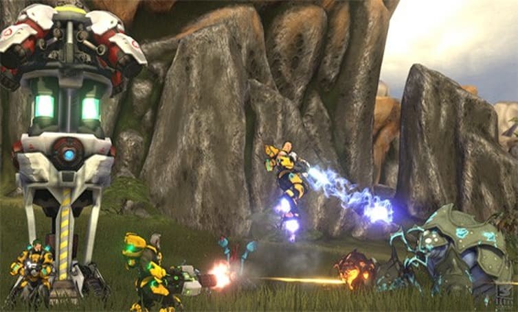 Firefall's latest dev diary highlights Chosen Warfront metagame