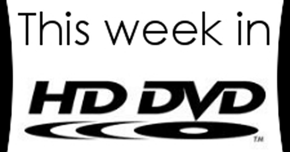 This Week in HD DVD: amateurs gone wild edition