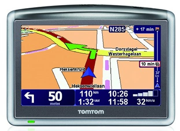 """TomTom's ONE XL HD Traffic GPS navigator with """"world's most advanced traffic information"""""""