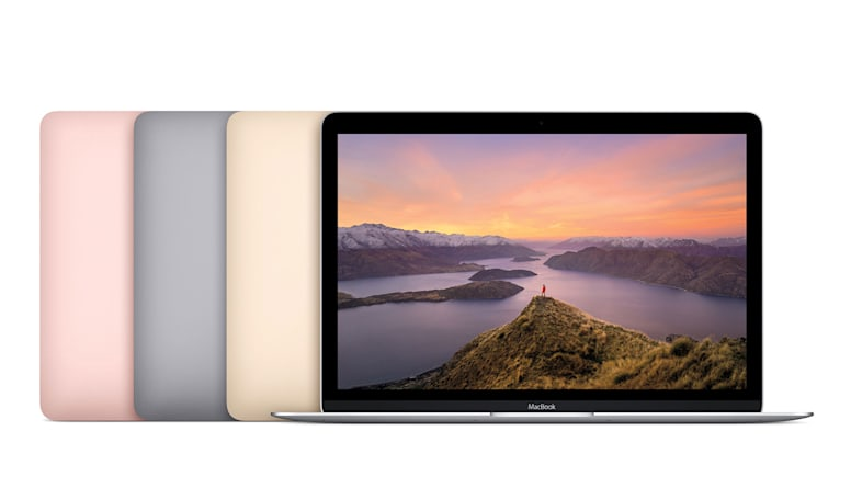 Apple upgrades its MacBook series and adds a rose gold option