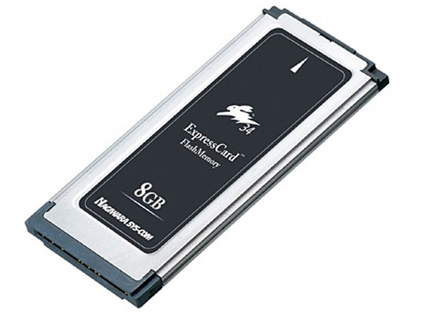 Hagiwara Sys-Com's 8GB ExpressCard is ReadyBoost certified, just like most flash drives