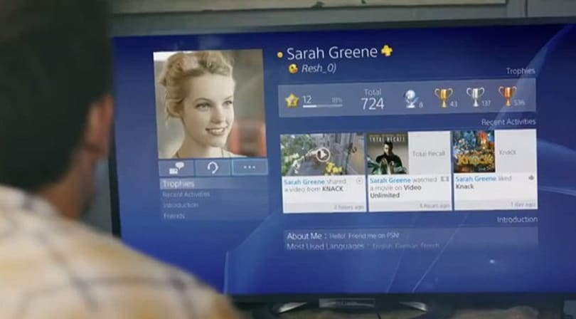 You can use your real name on PlayStation 4 at launch, but aliases are OK too