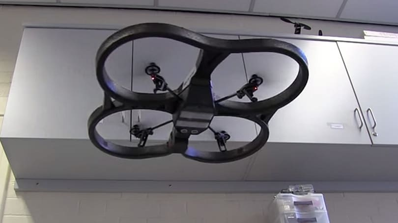 These drones learn about their world (and each other) as they fly