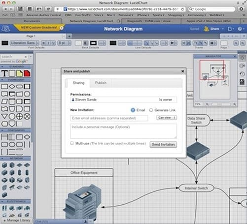 LucidChart web app brings diagramming prowess, collaboration to Mac and iPad
