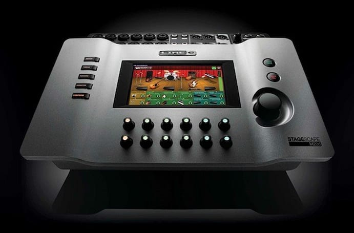 Line6 introduces StageScape visual mixer, lets you touch it up to eleven