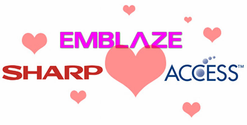 Emblaze Mobile inks deal with Sharp and ACCESS