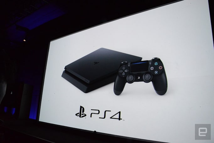 Live from Sony's PlayStation 4 Pro event