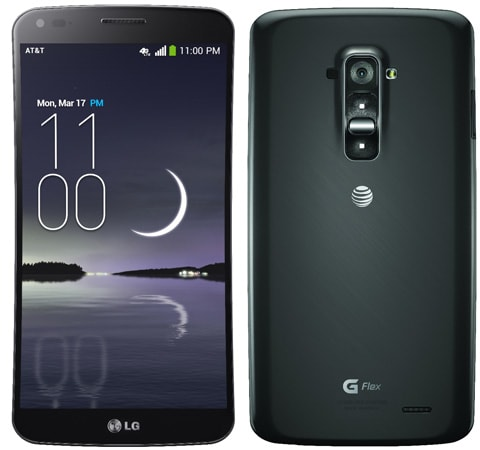 LG's curved G Flex phone comes to AT&T, Sprint and T ...