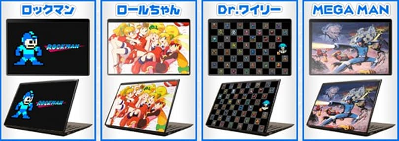 Mega Man gets equipped with Japanese laptop