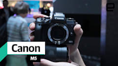 Canon makes big strides with its fast-focusing mirrorless M5