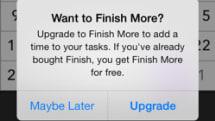 Finish for iPhone offers freemium version, teases iPad