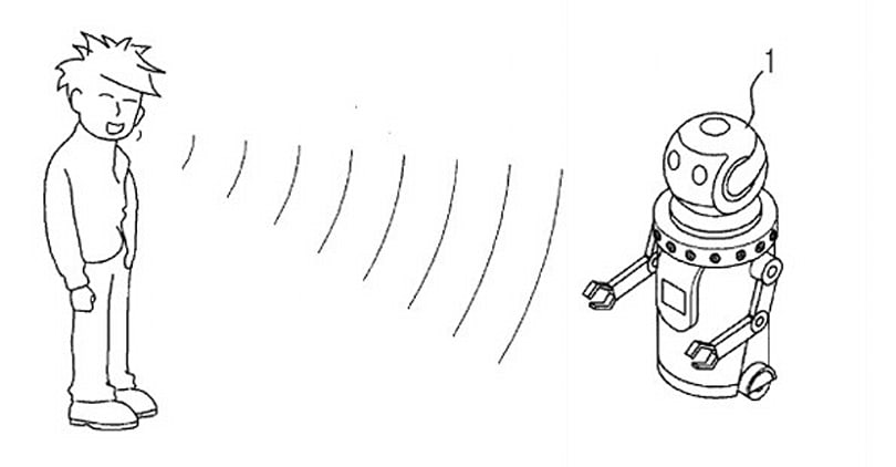 Samsung submits patent application for speech-recognizing robot