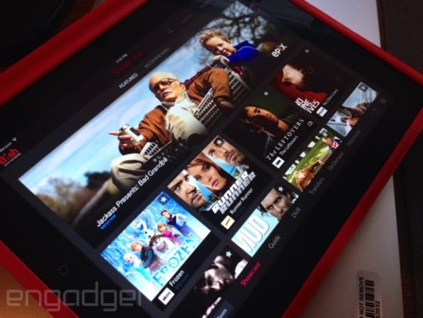 Dish Anywhere app now looks much better on tablets
