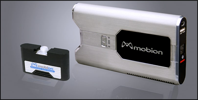 MTI Micro shows off universal fuel cell charger with removable cartridge
