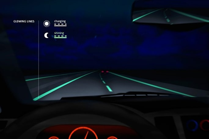 Glow-in-the-dark roads hit the streets in the Netherlands
