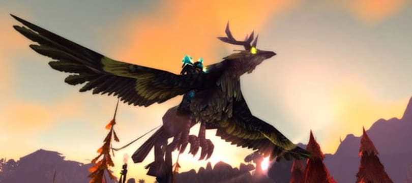 New mounts, loot coming in Crown of the Heavens trading card expansion