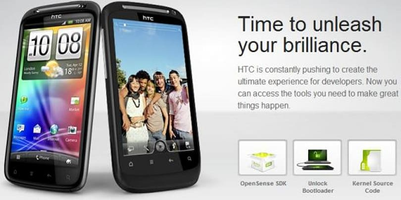 HTC Developer site goes live: OpenSense SDK and kernel source offered aplenty