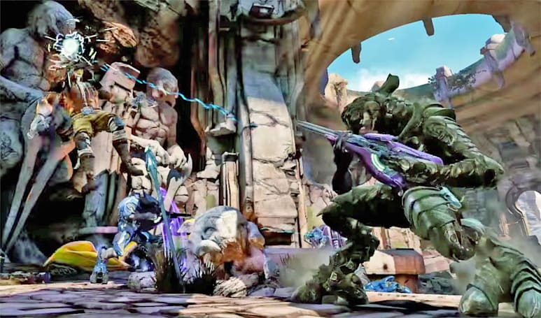 Halo's Arbiter is picking a fight in 'Killer Instinct'