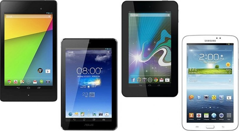 New Nexus 7 vs. the competition: battle of the budget 7-inch tablets