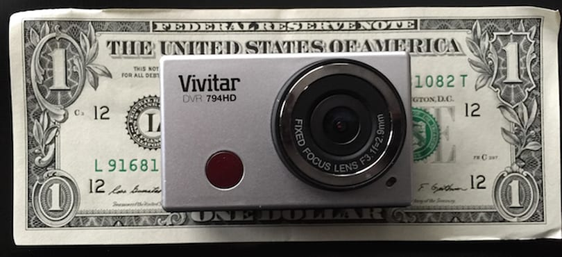 Vivitar DVR794HD Action Cam: You get what you pay for