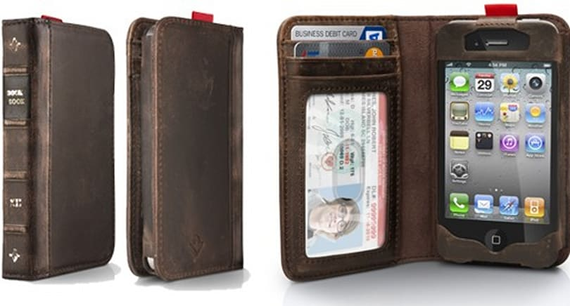BookBook iPhone 4 case doubles as wallet, attempts to fool miniature luddites
