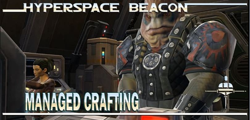 Hyperspace Beacon: Managed crafting