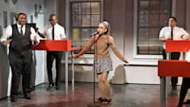 Ariana Grande channels pop stars to save Tidal on SNL