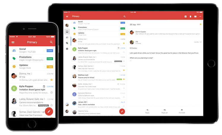Gmail for iOS is finally on par with the Android version