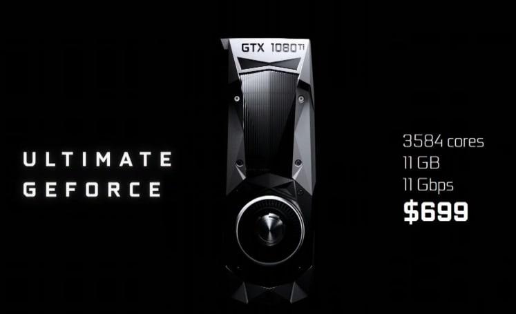 NVIDIA reveals its $700 top-of-the-line GTX 1080 Ti