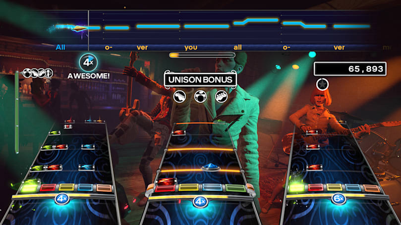 'Rock Band 4' devs will wipe the leaderboards next month