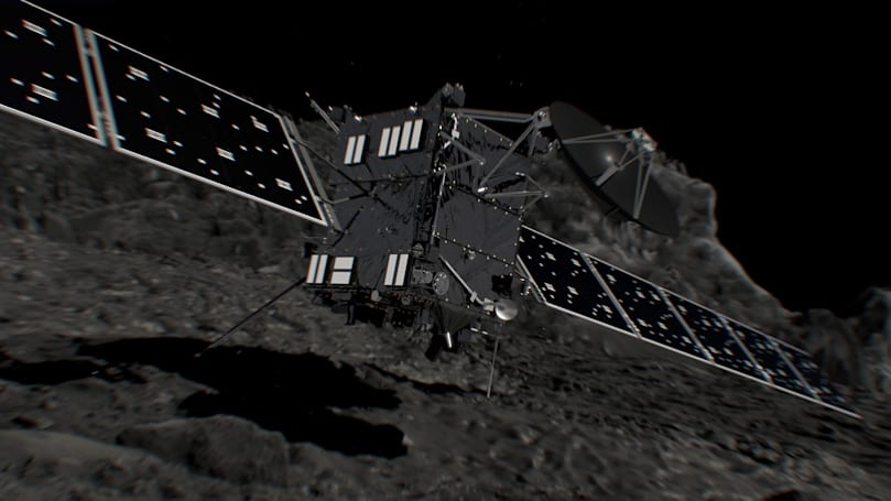 Watch the Rosetta probe fall into its death spiral this Friday