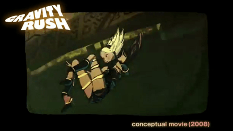 Gravity Rush's love affair with the 'bande dessinee' art style