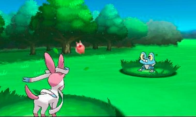 Pokemon X and Y's 'Sylveon' takes a bow