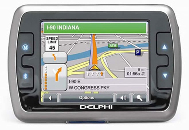 Delphi's latest GPS navigation system, the NAV300