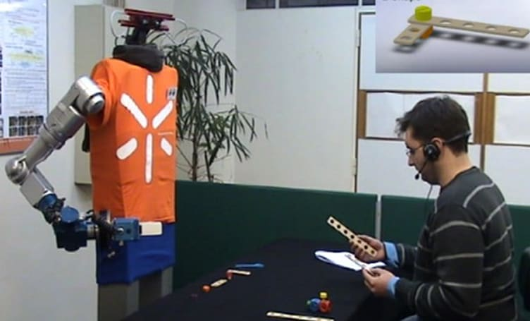 Researchers develop a robot that reads your intentions, says you're 'thick'