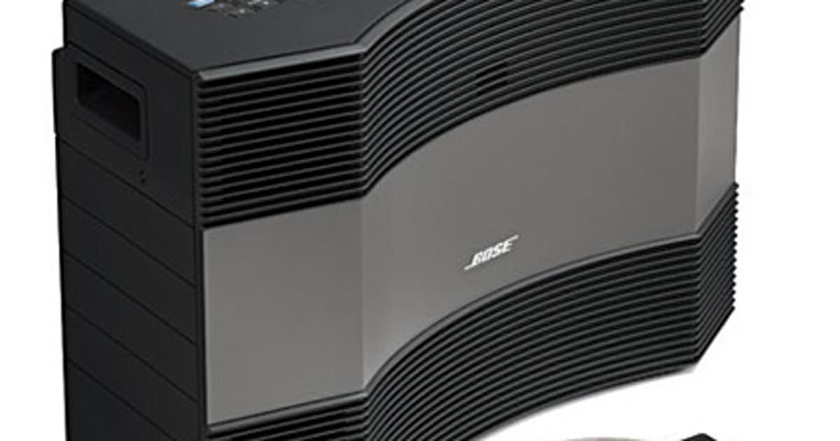 bose launches acoustic wave music system ii and companion 5. Black Bedroom Furniture Sets. Home Design Ideas