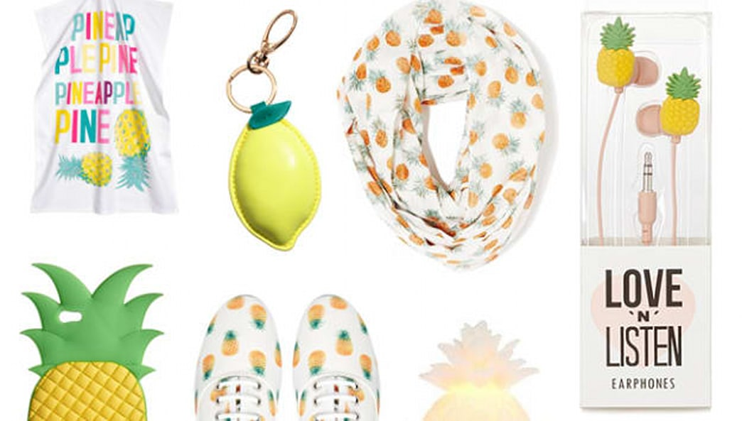 Let's get fruity: Pineapple prints are now in style