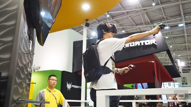 Computex highlighted VR's growing pains