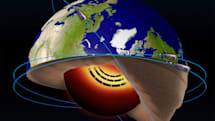 The Earth's core has a 'jet stream' of molten iron