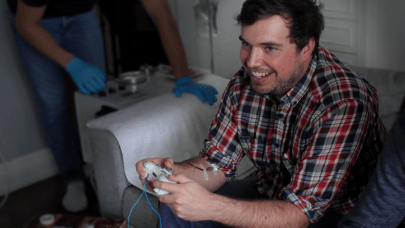 Kickstarter suspends funding of blood-collecting game device