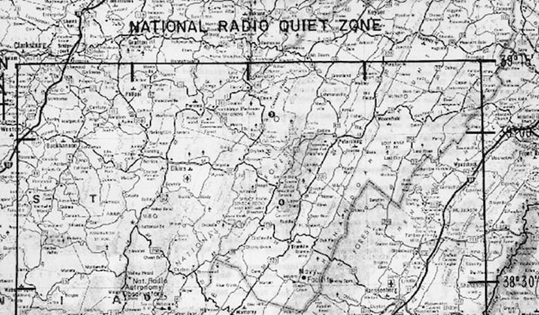 West Virginia's 'Quiet Zone' becomes refuge for those on the run from wireless technology