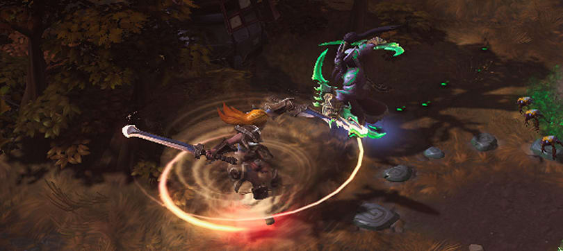 Heroes of the Storm hero rotation and Haunted Mines changes