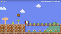 Hello Kitty is the latest addition to 'Super Mario Maker'