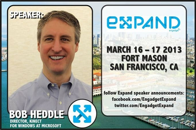 Live from Expand: Microsoft's Bob Heddle (video)