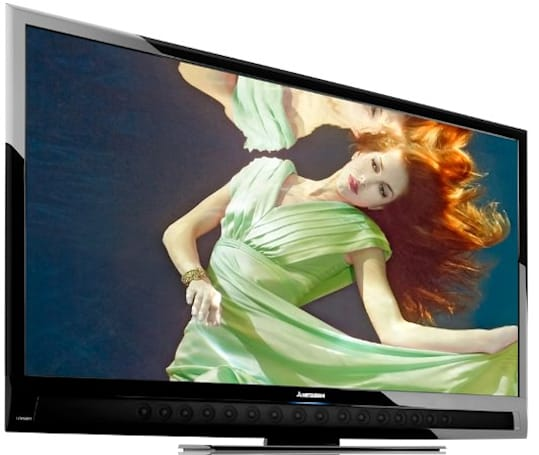 Mitsubishi drops LCD HDTVs to focus on 73-inch and above sized displays